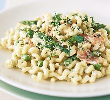 ... .com/recipes/1910/asparagus-broad-bean-and-smoked-salmon-pasta