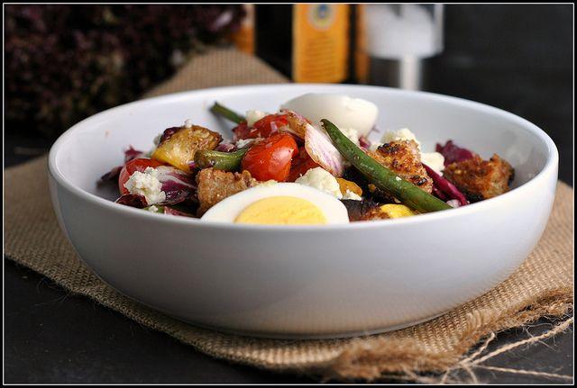Grilled Vegetable Panzanella | Dinner Ideas | Pinterest