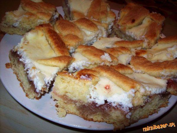 Tvarohový koláč