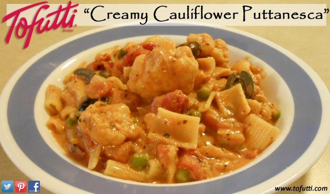 """Creamy Cauliflower Puttanesca"""""""
