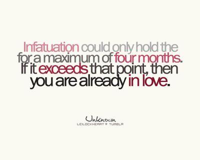 infatuation or love essay relationship