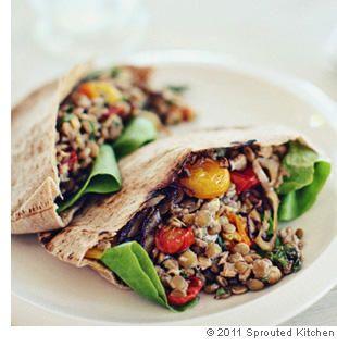 lentils, goat cheese, roasted tomatoes | Foooood | Pinterest