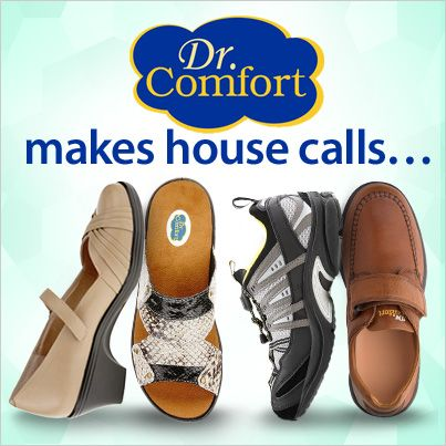 Dr. Comfort makes house calls! With over 30 different pairs of Dr. Comfort shoes, which style is your favorite?