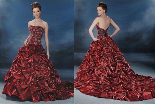 Red wedding ideas red wedding dress