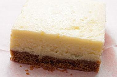 Lemon Cheesecake Squares — Punchfork | Cheesecake World | Pinterest