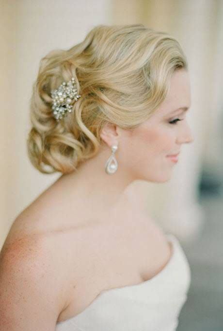 sweet 15 hairstyles for long hair : Wedding Hairstyles for Straight Hair : Brides