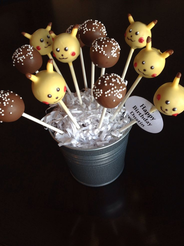 how to make pokemon cake pops the image kid has it. Black Bedroom Furniture Sets. Home Design Ideas