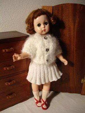 Free Knitting Pattern: Top Down Seamless Barbie Pants