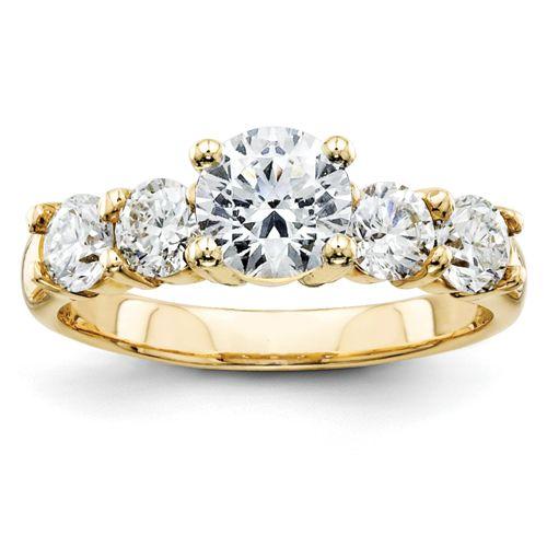 14k VS Diamond Engagement Ring Engagement Rings Pinterest