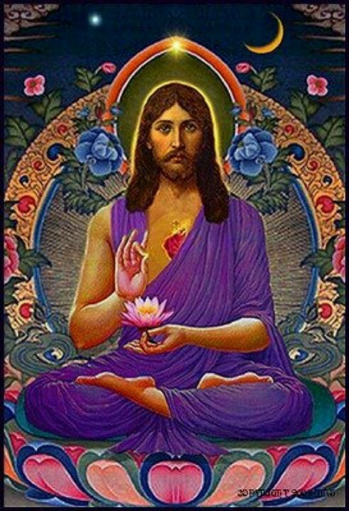 a comparison of jesus christ and the buddha Senior buddhist nun ajahn candasiri shares her belief that jesus'  jesus through buddhist eyes, i had imagined that i would use a 'compare and  even though the traditions of christianity and buddhism can appear in the.