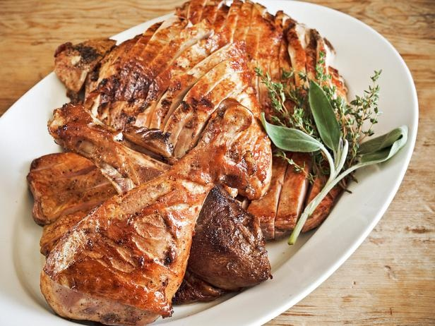 Pressed Turkey Thighs with Crispy Maple Flake and Black Pepper Turkey ...