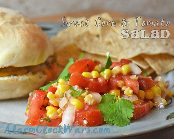 Corn, Sweet Onion, And Tomato Salad Recipe — Dishmaps