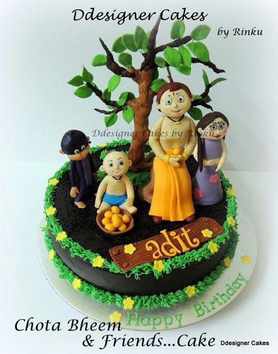 Cake Images Of Chota Bheem : Chota Bheem Cakes Cakes Pinterest
