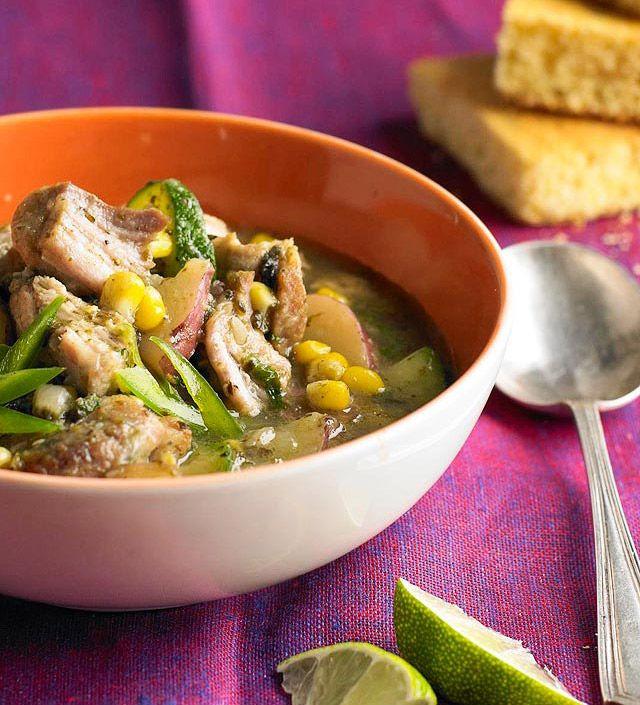 Pork And Poblano Stew Recipes — Dishmaps