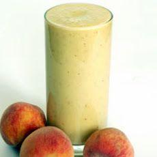Peach Melba Protein Shake | *Beverages, etc | Pinterest
