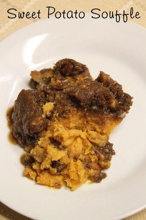 Sweet potato souffle I always use fresh potatoes. A favorite at my ...