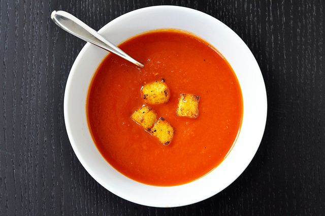 Roasted Garlic Tomato Soup | Soup, Stews, and Chili | Pinterest