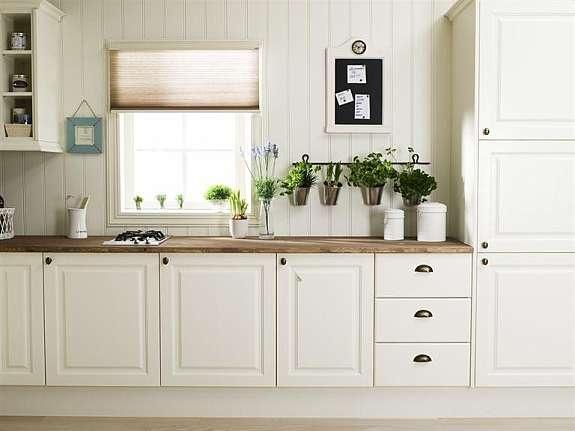 Farmhouse White Kitchen : White farmhouse kitchen home Pinterest