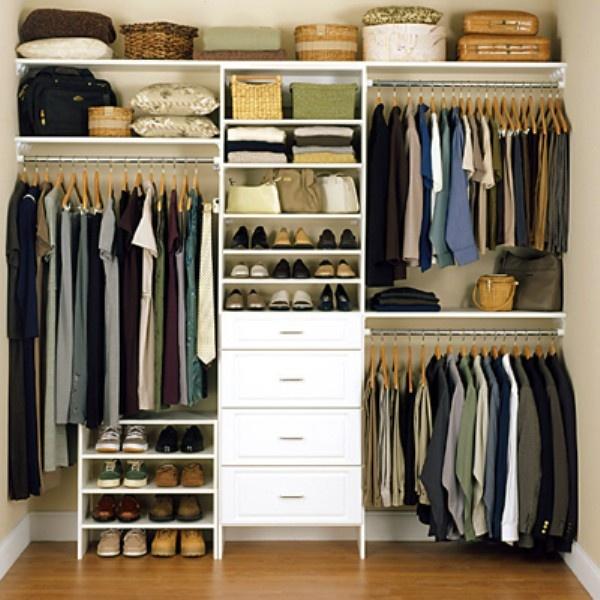 Closet organizers get organized pinterest - Closet designs ...