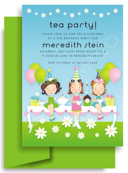 tea party invitation wording plumegiant com