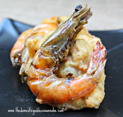 deep-fried prawn fritters - cucur udang | 70-Food Bloggers and Foodie ...