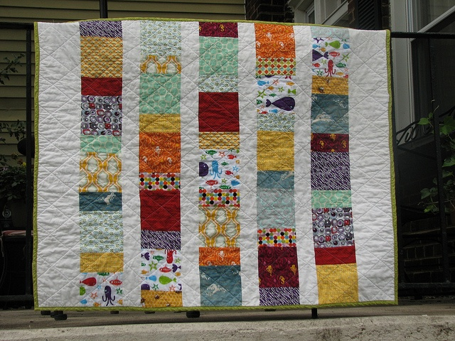 Modern simple quilt