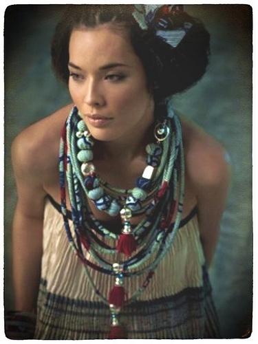 nadia dafri textile jewelry