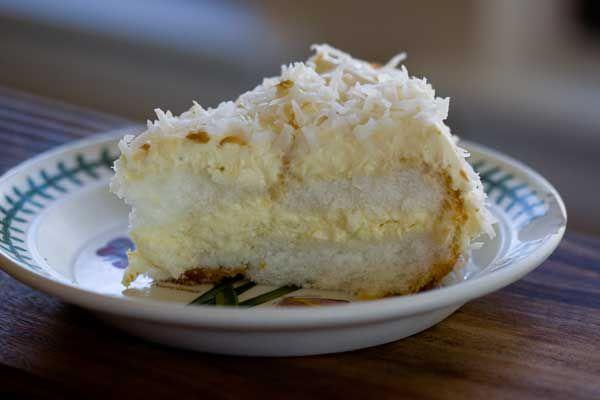 Key Lime Filled Angel Food Cake | Food | Pinterest