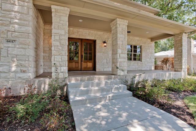 Grand Austin Stone Home In North Ridge Estates Dallas