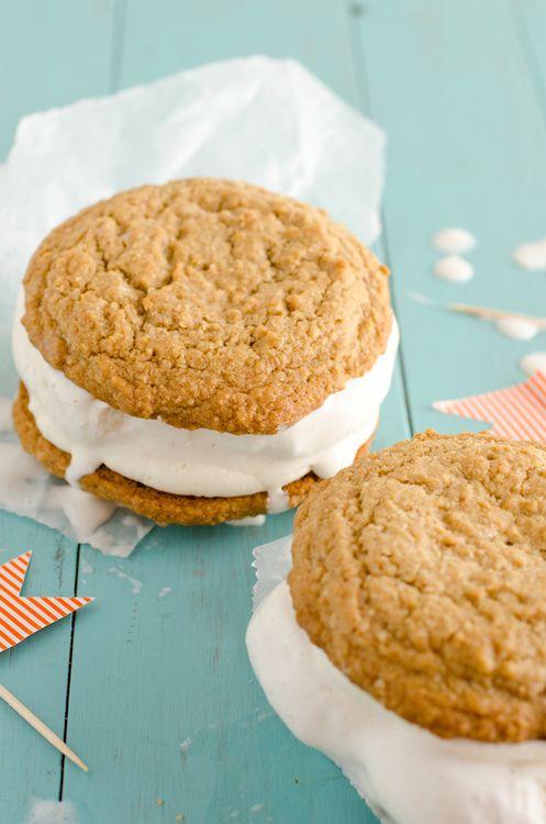 Oatmeal Cream Sandwiches Recipe — Dishmaps
