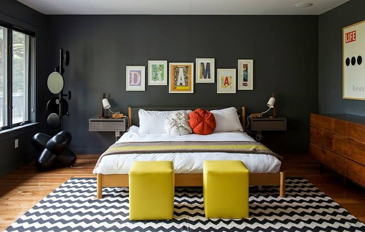 Dark Grey Bedroom Bedroom Ideas Pinterest