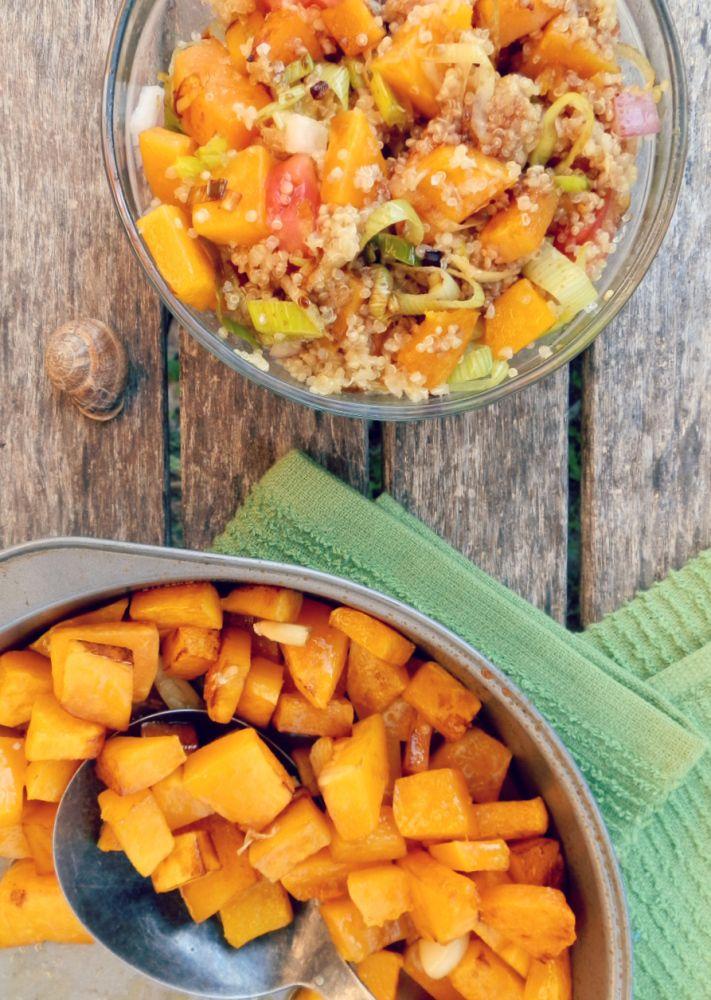 ... quinoa pie with butternut squash quinoa salad with butternut squash