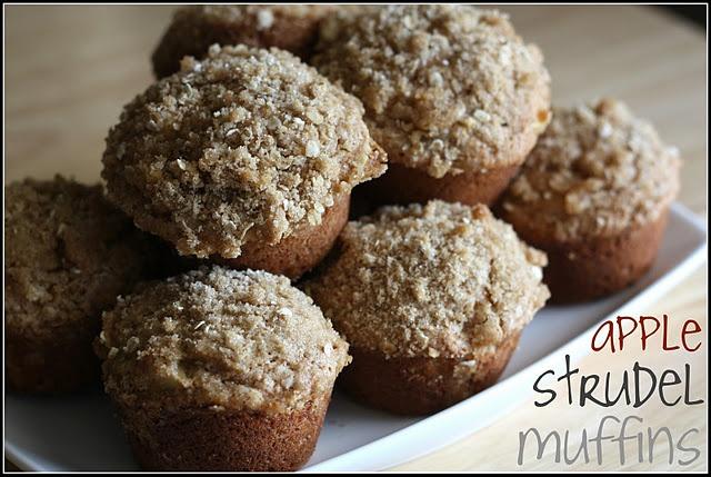 Apple Strudel Muffins - healthy version   DIY Crafts/ Recipes   Pinte ...
