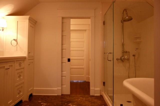 Pocket Door Bathroom Design : Pocket doors door trim house ideas