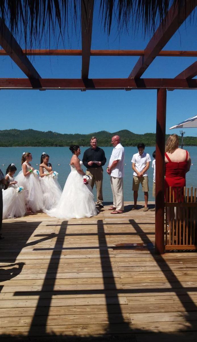 Mandurah cruises wedding