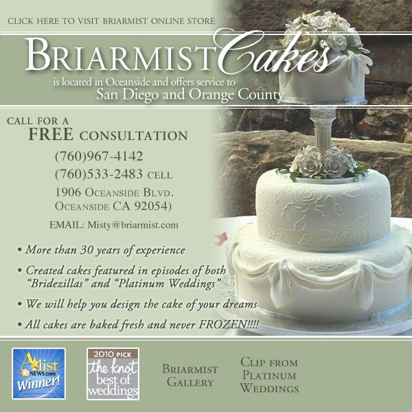 Briarmist Cakes in Oceanside, CA