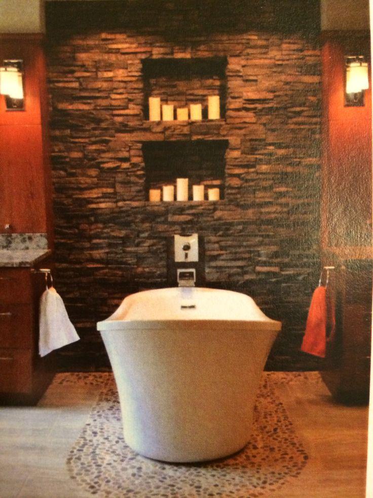 Spa Like Bathroom Bathrooms Pinterest
