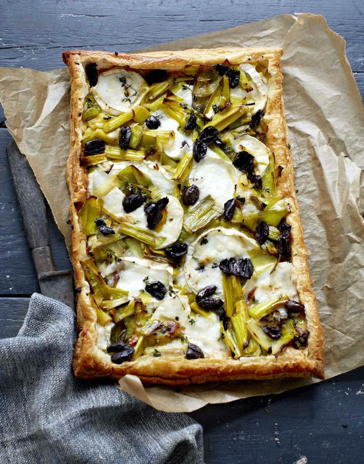 Liz Maclarnon's Cheese And Courgette Tart Recipes — Dishmaps