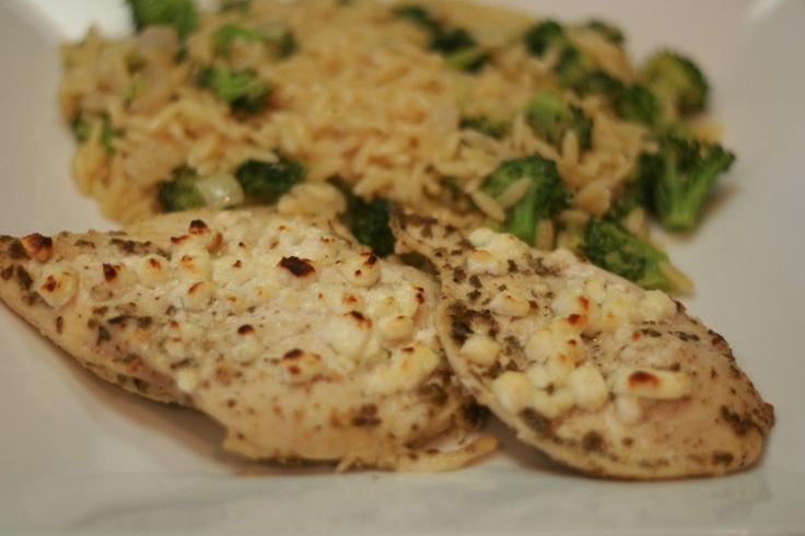 Lemon Feta Chicken with Oregano | Mmmmmmmm | Pinterest