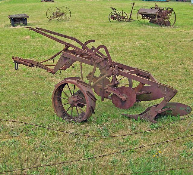 Tractor With Tools : Antique farm tools bing images