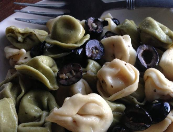 Black Olive and Brown Butter Tortellini | Food | Pinterest