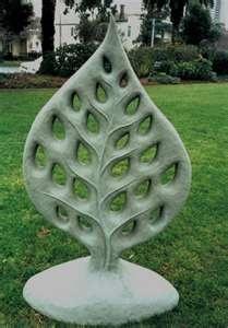green leaf cement render sioux dollman sculptures 02 32