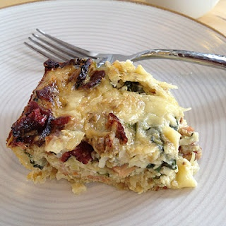 Fontina, Bacon, and Spinach Breakfast Casserole 1 (12 oz) package ...