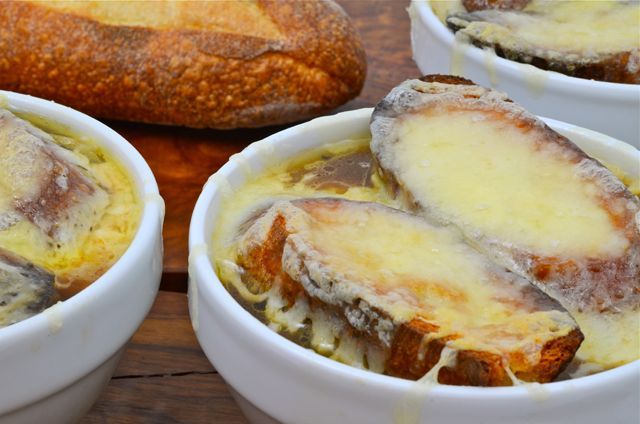 french onion soup au gratin recipe