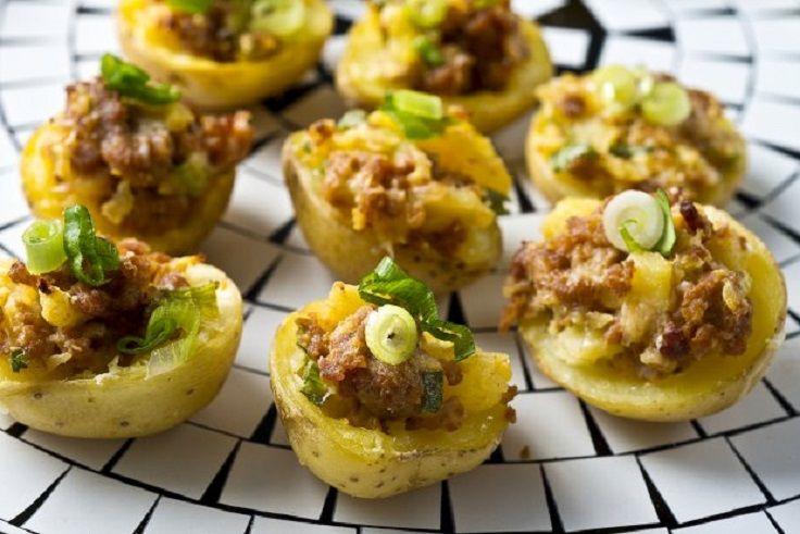 Chorizo Potato Bites | Appetizers | Pinterest