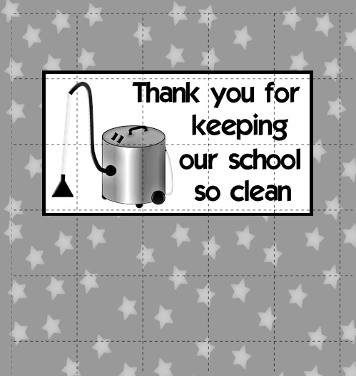 free printable thank you cards for custodian | just b.CAUSE