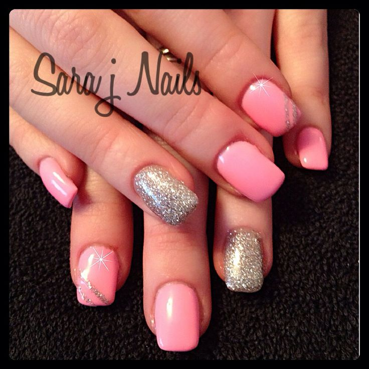 Acrylic Nails with Gel Polish Overlay | Nails By Me | Pinterest