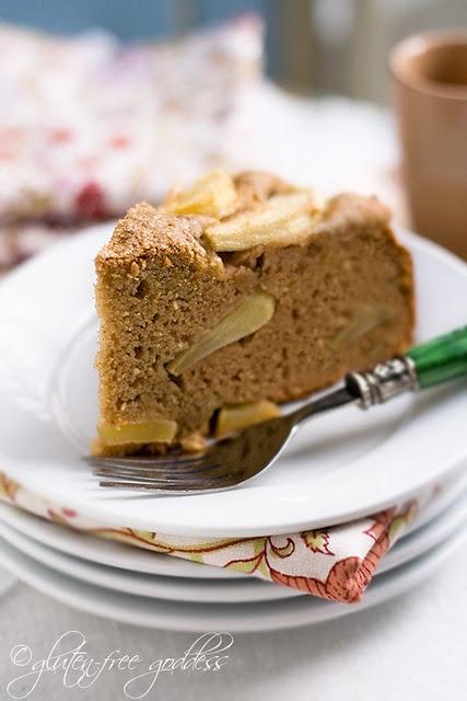Gluten free Coconut Flour Apple Cake