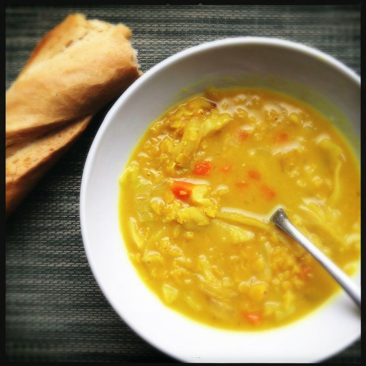 Coconut Curry Red Lentil Soup | Yummy Stuff! (Vegetarian) | Pinterest