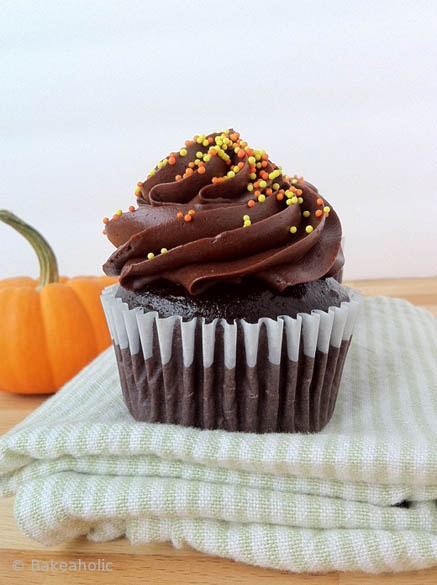 Dark Chocolate Cupcakes by Alicia (not this Alicia, but I do love my ...